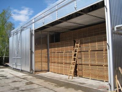 Проект сушильной камеры для древесины