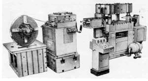 Автоматы листоштамповочные с нижним приводом