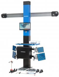 NORDBERG СТЕНД СХОД-РАЗВАЛ 3D модель C802-С настенный (без колонны)