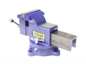 "Тиски слесарные STALEX ""Гризли"", 100 х 100 мм., 360°, 9,5 кг."