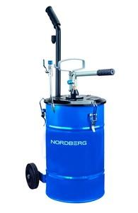 Установка для раздачи густой смазки ручная Nоrdberg N5025