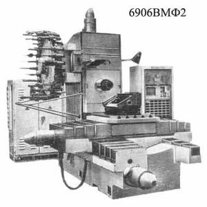 6906ВМФ2 - Станки горизонтально-фрезерные консольные