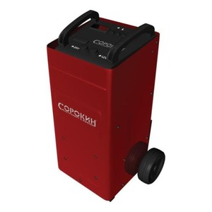 Зарядное устройство для аккумуляторов СОРОКИН Пускозарядное устройство 300А, 12-24В, 220В