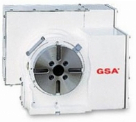 Одноосевой поворотный стол ЧПУ CNC-120RB GSA+ (заднее положение двигателя)