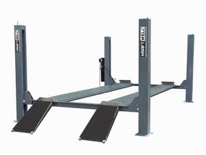 KraftWell KRW5.5 Подъемник четырехстоечный г/п 5500 кг. платформы гладкие