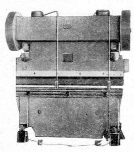 Прессы листогибочные кривошипные И1330