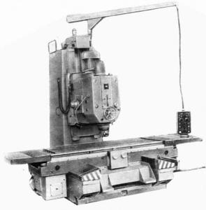 6А59 - Станки вертикально-фрезерные с крестовым столом