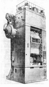 Пресс кривошипно-коленный чеканочный К8332