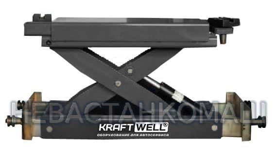Траверса с ручным приводом KraftWell KRWJ2N, рис.1