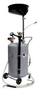 APAC 1832.80 Установка для слива и откачки масла/антифриза с круглой подъемной ванной, мобильная