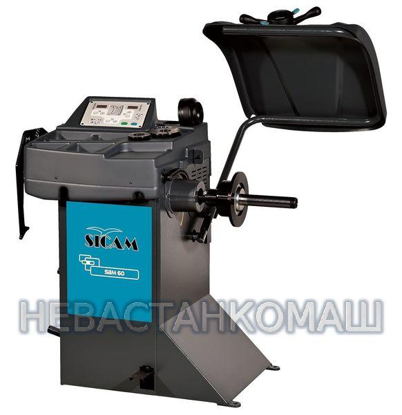 Sicam SBM60_blue Балансировочный стенд с ручным вводом параметров
