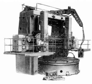 1540П - Станки токарно-карусельные двухстоечные