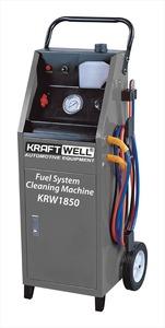 KraftWell KRW1850 Установка для промывки топливной системы, электрическая