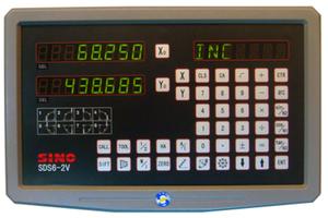 Устройство цифровой индикации DRO SINO SDS6-2V на 2 оси