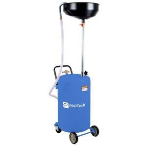 Установка для слива масла/антифриза с круглой подъемной ванной, мобильная ProTech SOD70PRO