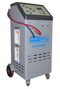 Станция полуавтоматическая для заправки автомобильных кондиционеров KraftWell KRW134ASA