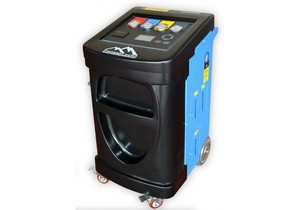 Установка для обслуживания кондиционеров Trommelberg OC600B, супер автомат с весами для масла и УФ добавки