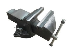 KraftWell KRW0150 Тиски слесарные вращающиеся 150 мм