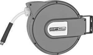 Катушка для раздачи воздуха/воды, закрытая пластиковая KraftWell KRW1731.C5