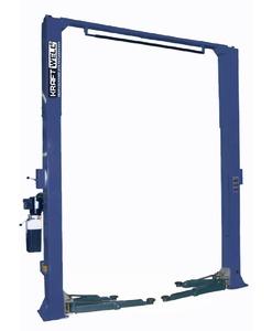 Подъемник двухстоечный KraftWell KRW5.5MU_blue