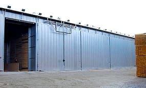 Агрегатура сушильной камеры объемом 50 м3