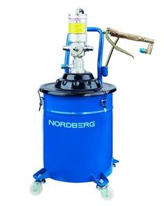 Установка пневматическая для раздачи густой смазки Nоrdberg NO5020
