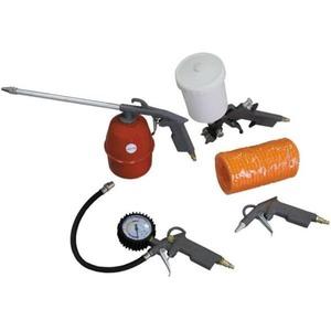Оснастка для пневмоинструмента СОРОКИН Набор пневмоинструмента, 5 предметов