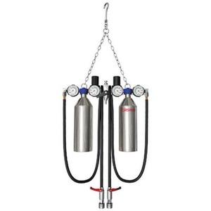 Оборудование для автосервисов СОРОКИН Установка для промывки инжектора с двумя резервуарами 600мл