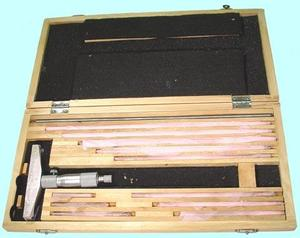 "Глубиномер микрометрический ГМ 0-300мм (0,01) ""CNIC"" (440-160)"