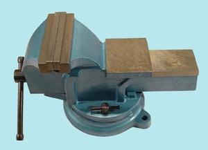 """Тиски Слесарные 100 мм (4"""") стальные поворотные с наковальней (LT98004) """"CNIC"""" (упакованы по 2шт.)"""