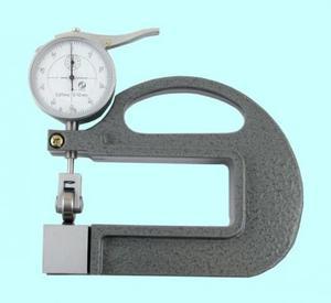 """Толщиномер индикаторный стрелочный роликовый (0-10мм), цена дел. 0,01мм, L100мм """"CNIC"""" (581-101)"""