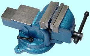 """Тиски Слесарные   75 мм (3"""") стальные поворотные с наковальней (LT98003) """"CNIC"""" (упакованы по 4шт.)"""