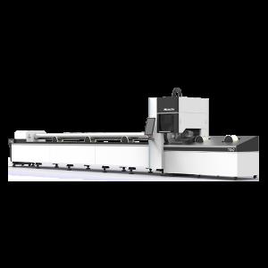 Оптоволоконный лазерный станок для металлических труб и профилей MetalTec TS62