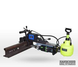 Машина для сверления железнодорожных и крановых рельсов MРС75