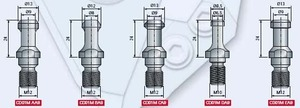 Хвостовики для конусов ISO30 CD01M