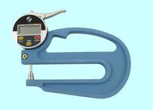 """Толщиномер индикаторный электронный (0-10мм), цена дел. 0,01мм, L120мм """"CNIC"""" (580-206)"""