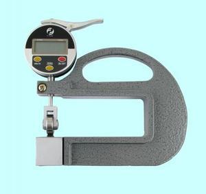 """Толщиномер индикаторный электронный роликовый (0-10мм), цена дел. 0,01мм, L100мм """"CNIC"""" (581-205)"""