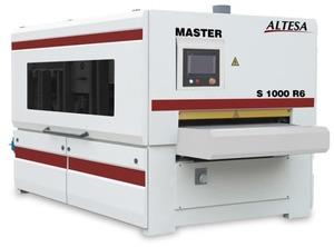 Щеточный рельефно-шлифовальный станок ALTESA MASTER S1000-6R