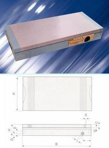 """Плита магнитная плоская ХМ91 150х350 сила притяжения 110 N/см кв. """"CNIC"""" (66025-10)"""