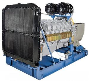 Дизельный генератор ТСС АД-400С-Т400-1РМ2 Linz