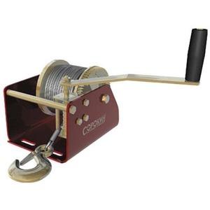 Грузоподъемное оборудование СОРОКИН Лебёдка барабанная 1т 12м с червячным приводом