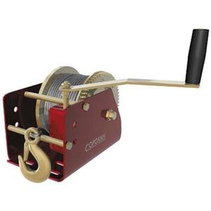 Грузоподъемное оборудование СОРОКИН Лебёдка барабанная 1,3т 15м с червячным приводом