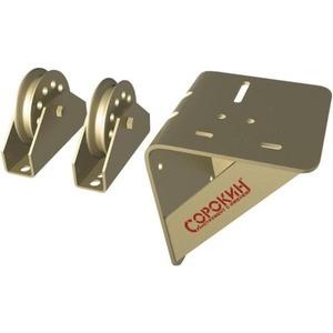 Консоль настенная с подвесными блоками для барабанных лебёдок Сорокин 0,5т