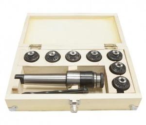 Патрон резьбонарезной МТ-4 с лапкой и набором  цанг М12 ( комплект-7шт)