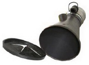 Aerservice BGNT0000000075 Насадка газоприёмная 75 мм. из каучука с крышкой