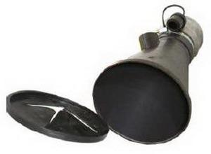 Aerservice BGNT0000000125 Насадка газоприёмная 125 мм. из каучука с заслонкой