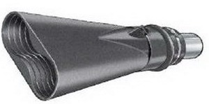 Aerservice BGO10000075140 Насадка газоприёмная 75 мм. из каучука овальная