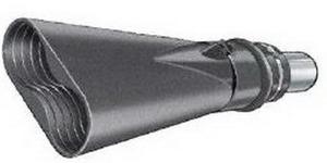 Aerservice BGO20000100140 Насадка газоприёмная 100 мм. из каучука овальная