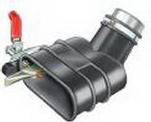 Aerservice BGIM2000100150 Насадка газоприёмная 100 мм. с клещами для одиночных и двойных труб глушителя