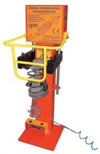 Пресс для демонтажа/монтажа пружин многорычажных подвесок TopAuto SS0010Kompact3